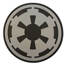star wars galactic empire crest insignia PVC rubber 3D patch VELCRO® brand
