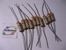 Erie Type-8 Solid Carbon Ceramic Resistor 330 Ohm 10% 1/2 Watt Axial NOS Qty 10