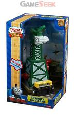 THOMAS AND FRIENDS WOODEN RAILWAY CRANKY THE CRANE - ACTION FIGURES/FIGURES NEW