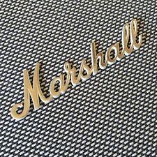 Logotipo MARSHALL script, 1966 JTM, JMP Plexi correcta separación, Raro