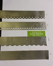 """Lead flashing for dolls houses 1"""" x 12"""""""