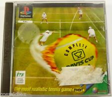 DAVIS CUP - COMPLETE TENNIS jeu video sport pour console PlayStation psx ps1 ps2