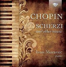 IVAN MORAVEC - SCHERZI AND OTHER MUSIC  CD NEU CHOPIN,FREDERIC