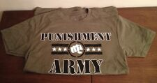 NEW PUNISHMENT ATHLETICS Army MMA T-SHIRT SIZE S UFC