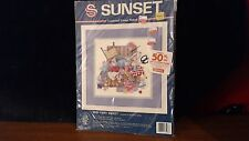 Sunset Sew Very Sweet Counted Cross Stitch Kit NEW 13596 N7