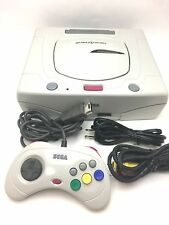 Used Sega Saturn White Console System No Box Very Good Japan SS