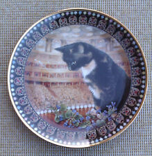 "LESLEY ANNE IVORY'S ""CATS!"" -""MOTLEY"" PLATE BY DANBURY MINT - 2000"