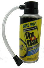 Fix-A-Flat lnflator + Sealer Bike Tire Repair Puncture Tube Instantly Flat Fix