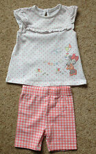 BABY GIRLS DRESS AND LEGGINGS FROM DISNEY  AGE 3-6 MONTHS  EX COND