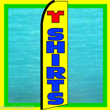 T SHIRTS SWOOPER FLAG Feather Banner Flutter Bow Clothing Advertising Sign