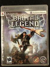 Brutal Legend (Sony PlayStation 3, 2009)