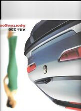 ALFA ROMEO 156 SPORTWAGON SALES BROCHURE DECEMBER 2000 FOR 2001 MODEL YEAR