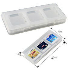 Brand New 6 in1 Game Card Holder Cover Cases Box For Nintendo 3DS DSI DS NDS UK