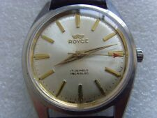 Vintage Swiss Royce 17J Manual Watch