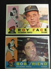 Roy Face Signed  Autographed 1960 Topps Card  Pirates with  COA.