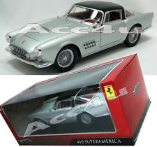 Hot Wheels Silver Ferrari 410 Super America 1:18 Diecast Model Car