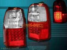 1996-2000 TOYOTA 4RUNNER RED LED TAIL LIGHTS PAIR NEW