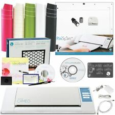 Silhouette CAMEO 2 Vinyl Starter Kit Machine Tool Bundle PixScan Cutting Mat