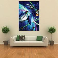 STAR FOX RETRO VINTAGE GAME NEW GIANT LARGE ART PRINT POSTER PICTURE WALL G946