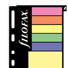 Filofax Multifit Large Assorted Sticky Notes Personal/A5/A4 Size Refill 130136