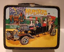 Vintage 1965 The Munsters TV Show Metal Lunchbox Kit WOW !!