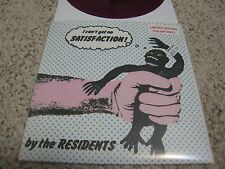 "THE RESIDENTS I Can't Get No Satisfaction 7"" LTD 500 PURPLE VINYL 2015"