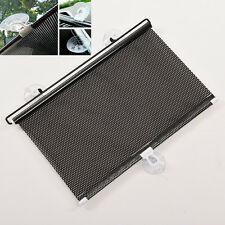 RETRACTABLE CAR AUTO SUN SHADE BLOCK Windshield REAR WINDOW Mesh Sun Visors