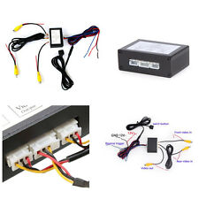 Car SUV Front & Rear Parking Camera Video Switch Converter 2 Channel Control Box