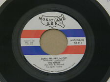 "GUISE LONG HAIRED MUSIC MUSICLAND orig US GARAGE PSYCH 7"" 45 HEAR"