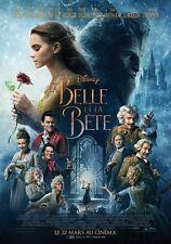 Affiche Pliée 120x160cm LA BELLE ET LA BÊTE (2017) Emma Watson / Mcgregor NEUVE