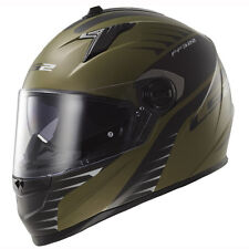 LS2 FF322 Airfighter Green Motorcycle Helmet Size Large 59-60cm Last One !!!