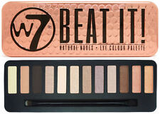 W7 Eyeshadow Palette-Beat IT-con applicatore trucco di Natale