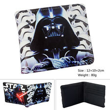 NEW Star Wars EPISODE VII Wallet Cartoon Printed Leather Bifold Cards Purse