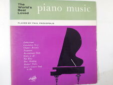 LP THE WORLDS BEST PIANO MUSIC Paul Procopolis FDY2050