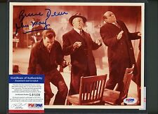 Bruce Dern John May Dual Signed 8x10 Photo PSA/DNA COA AUTO Autograph