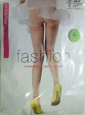 Hudson Medium Size 12 to 14 Fishnet Pattern Fashion Pantie Tights Multicolour