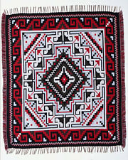 "#5000 Reversible Soft Throw Blanket Native American Southwest Classic 50""x64"""