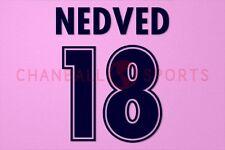 Nedved #18 1998-2001 Lazio Homekit Nameset Printing
