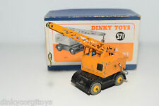 DINKY TOYS 971 571 COLES MOBILE CRANE EXCELLENT BOXED