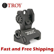 SSIG-FBS-R0BT-00 Troy Industries BattleSight Tactical Folding Rear Battle Sight
