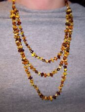 3 strand Amber necklace.  Hand Strung with Screw Clasp.  Very Pretty!! $39