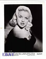 Diana Dors busty sexy VINTAGE Photo Blonde Sinner