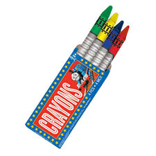12 Packs Thomas the Tank Engine Trains Childrens Party Treat Favor 4 Crayon Sets