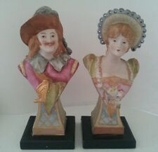 Ardalt Lenwile China porcelain Musketeer and his Lady figurine Collectible #6281