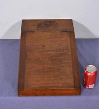 *Vintage Oak Writing Slope (Wood Box)