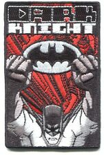 BATMAN dark knight fists EMBROIDERED IRON-ON PATCH **FREE SHIP** pdc75 dc comics