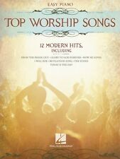 Top Worship Songs Sheet Music Easy Piano SongBook NEW 000312109