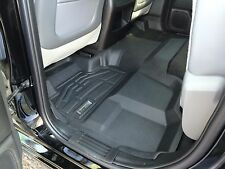 Second Row Floor Mat in Black for 2014 - 2016 GMC Sierra 1500 Double Cab