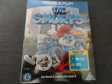 THE SMURFS (Blu-ray and DVD Combo, 2011, 2-Disc Set) NEW & SEALED