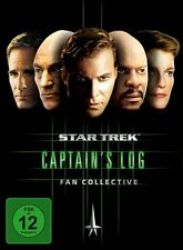 AVERY BROOKS,KATE MULGREW SCOTT BAKULA - STAR TREK-CAPTAIN'S LOG  5 DVD NEU